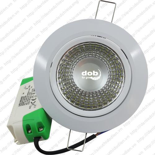Đèn LED âm trần DOB 7W chip COB - DOB-COB-07